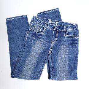 FreeStyle denim jeans girls size 14
